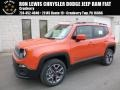 2017 Omaha Orange Jeep Renegade Latitude 4x4  photo #1