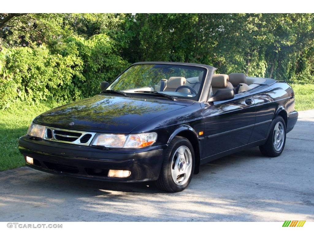 1999 midnight blue mica saab 9 3 convertible 11894034 car color galleries. Black Bedroom Furniture Sets. Home Design Ideas