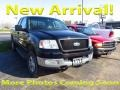 Black 2004 Ford F150 XLT SuperCab 4x4