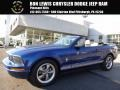 2006 Vista Blue Metallic Ford Mustang V6 Premium Convertible  photo #1
