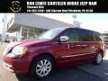 Deep Cherry Red Crystal Pearl 2011 Chrysler Town & Country Touring - L