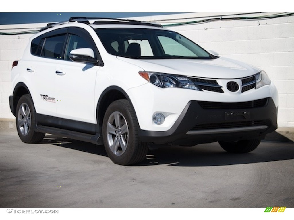2015 super white toyota rav4 xle 119135174 photo 6 car color galleries. Black Bedroom Furniture Sets. Home Design Ideas