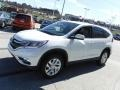 2015 White Diamond Pearl Honda CR-V EX AWD  photo #6