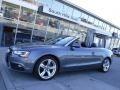 Monsoon Gray Metallic 2013 Audi A5 2.0T quattro Cabriolet