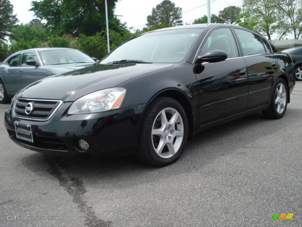 2003 Super Black Nissan Altima 3 5 Se 11899004 Gtcarlot Com Car Color Galleries