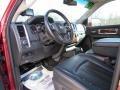 2010 Inferno Red Crystal Pearl Dodge Ram 3500 Laramie Crew Cab 4x4  photo #31