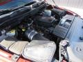 2010 Inferno Red Crystal Pearl Dodge Ram 3500 Laramie Crew Cab 4x4  photo #53