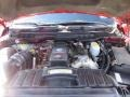 2010 Inferno Red Crystal Pearl Dodge Ram 3500 Laramie Crew Cab 4x4  photo #55