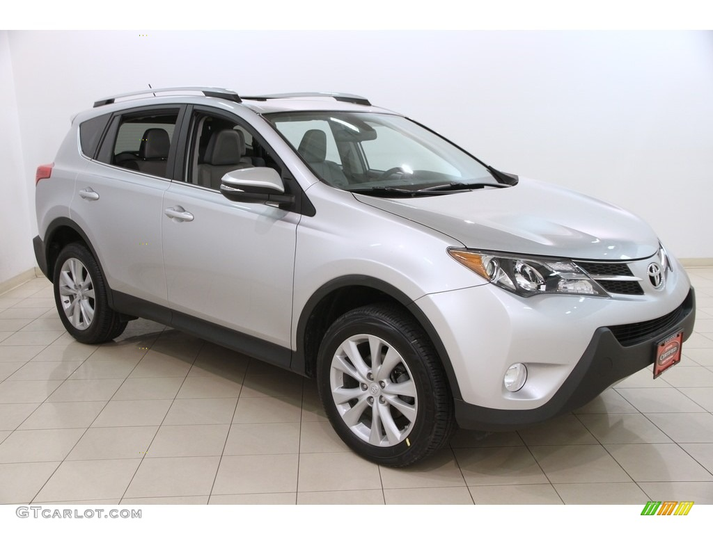 2014 classic silver metallic toyota rav4 limited awd 119135458 photo 3 car. Black Bedroom Furniture Sets. Home Design Ideas