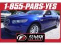 Deep Impact Blue Metallic 2013 Ford Taurus SE