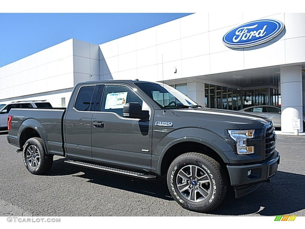 2017 lithium gray ford f150 xlt supercab 4x4 119135148 photo 24 car color. Black Bedroom Furniture Sets. Home Design Ideas