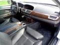 Black/Black 2005 BMW 7 Series 745Li Sedan Interior Color