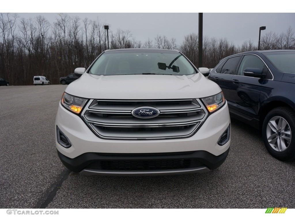 2017 White Platinum Metallic Ford Edge Titanium Awd 119135532 Photo 2 Car