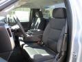 Jet Black Front Seat Photo for 2017 Chevrolet Silverado 2500HD #119177069