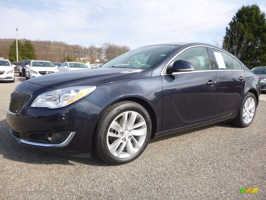 2014 graphite blue metallic buick regal fwd 119135208