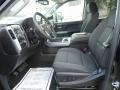 Jet Black Interior Photo for 2017 Chevrolet Silverado 2500HD #119186951