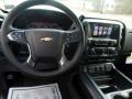Jet Black Steering Wheel Photo for 2017 Chevrolet Silverado 2500HD #119186969