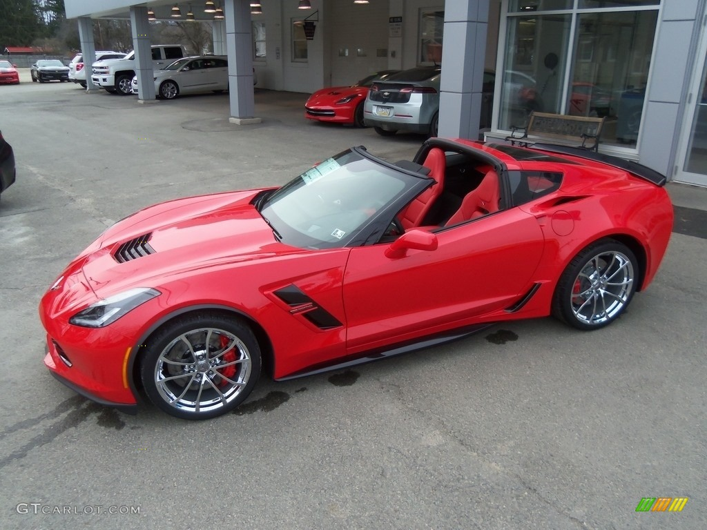 2017 Torch Red Chevrolet Corvette Grand Sport Coupe ...