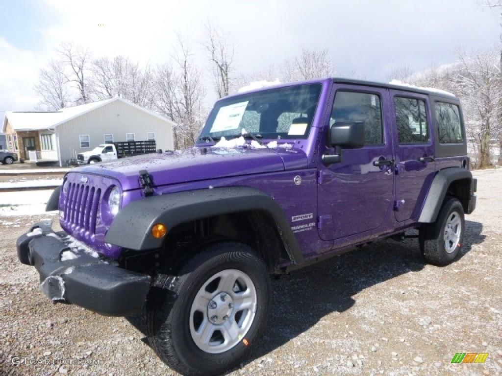 2017 extreme purple jeep wrangler unlimited sport 4x4. Black Bedroom Furniture Sets. Home Design Ideas