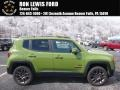 Jungle Green 2016 Jeep Renegade Latitude 4x4