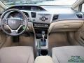 Urban Titanium Metallic - Civic LX Sedan Photo No. 17