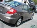 Urban Titanium Metallic - Civic LX Sedan Photo No. 31
