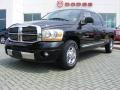 2006 Brilliant Black Crystal Pearl Dodge Ram 1500 Laramie Mega Cab  photo #1