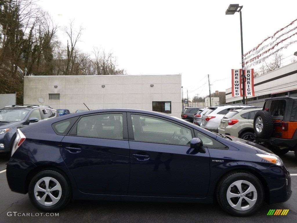 2015 nautical blue metallic toyota prius two hybrid. Black Bedroom Furniture Sets. Home Design Ideas
