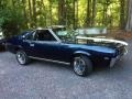 Dark Blue 1969 AMC AMX Coupe
