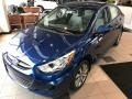 Pacific Blue 2017 Hyundai Accent SE Sedan