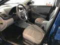 2017 Accent SE Sedan Gray Interior