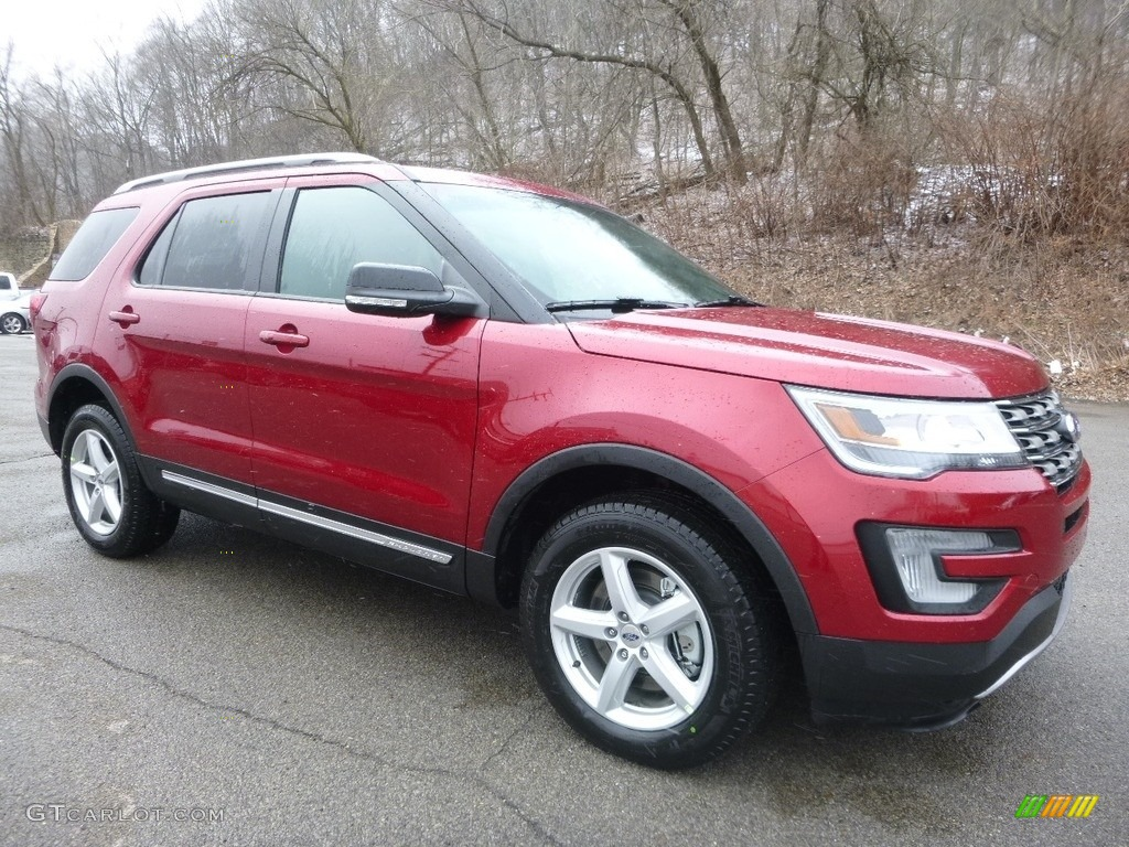 Ruby Red 2017 Ford Explorer XLT 4WD Exterior Photo #119253957