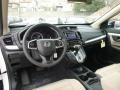 2017 White Diamond Pearl Honda CR-V LX AWD  photo #9
