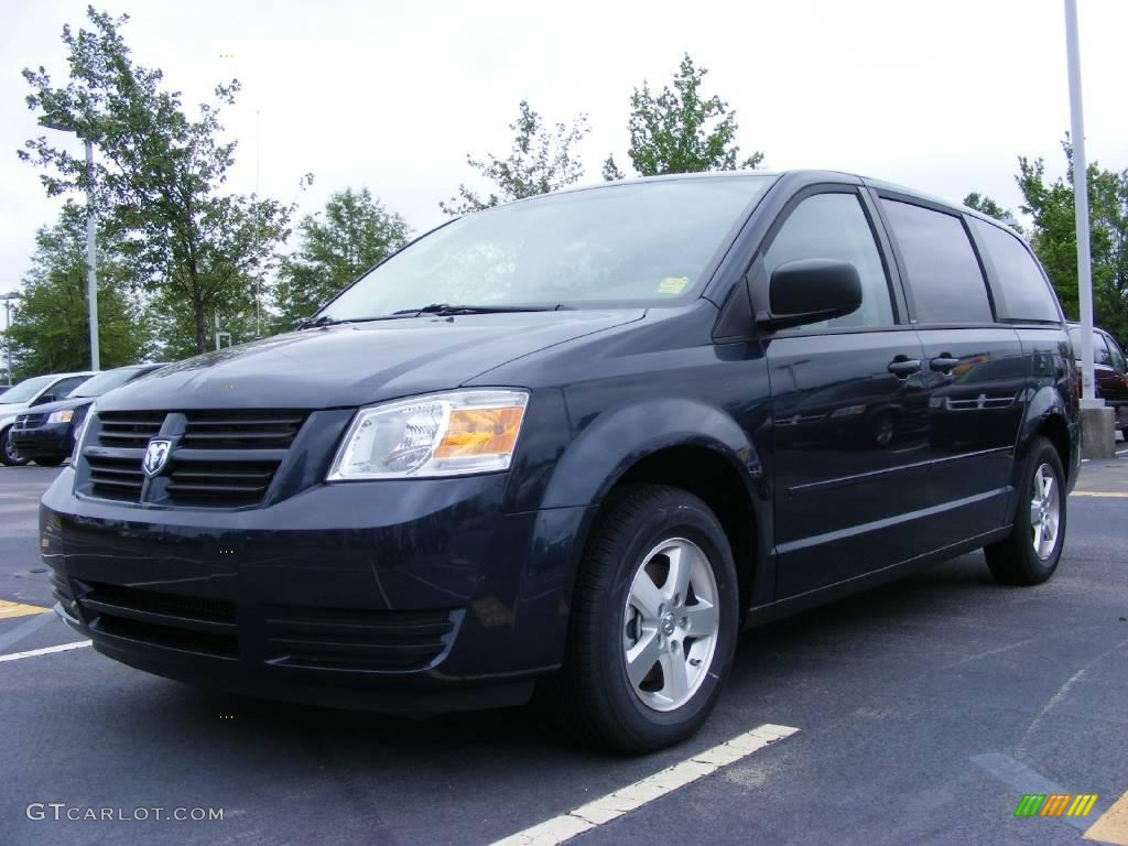 2009 modern blue pearl dodge grand caravan se 11892096. Black Bedroom Furniture Sets. Home Design Ideas