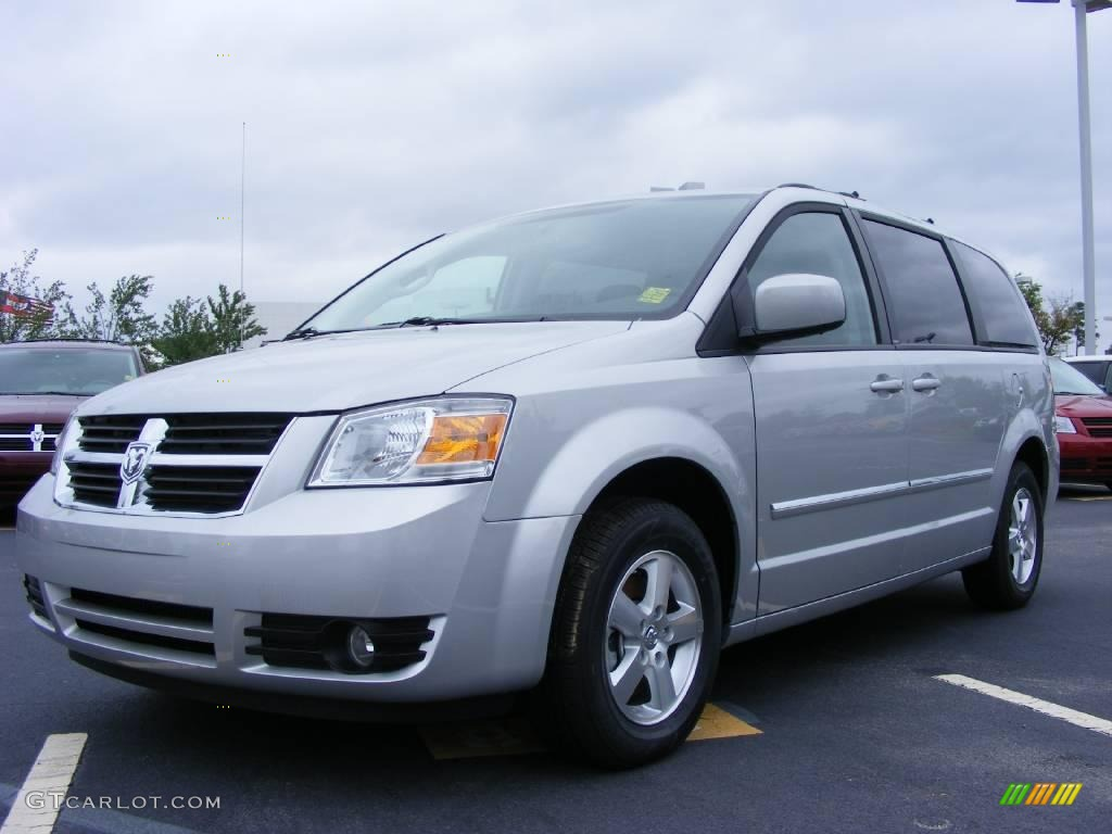 2009 bright silver metallic dodge grand caravan sxt. Black Bedroom Furniture Sets. Home Design Ideas