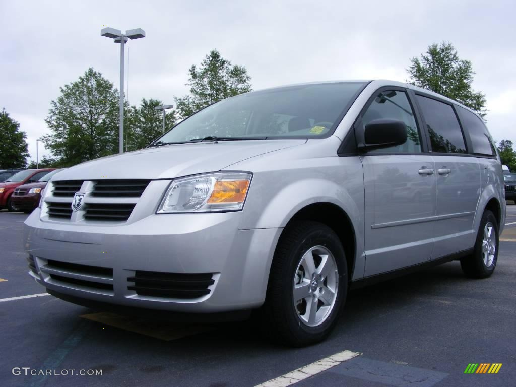 2009 bright silver metallic dodge grand caravan se. Black Bedroom Furniture Sets. Home Design Ideas