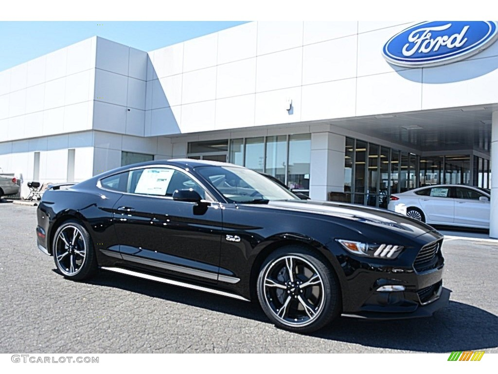 2017 Shadow Black Ford Mustang GT California Speical Coupe ...