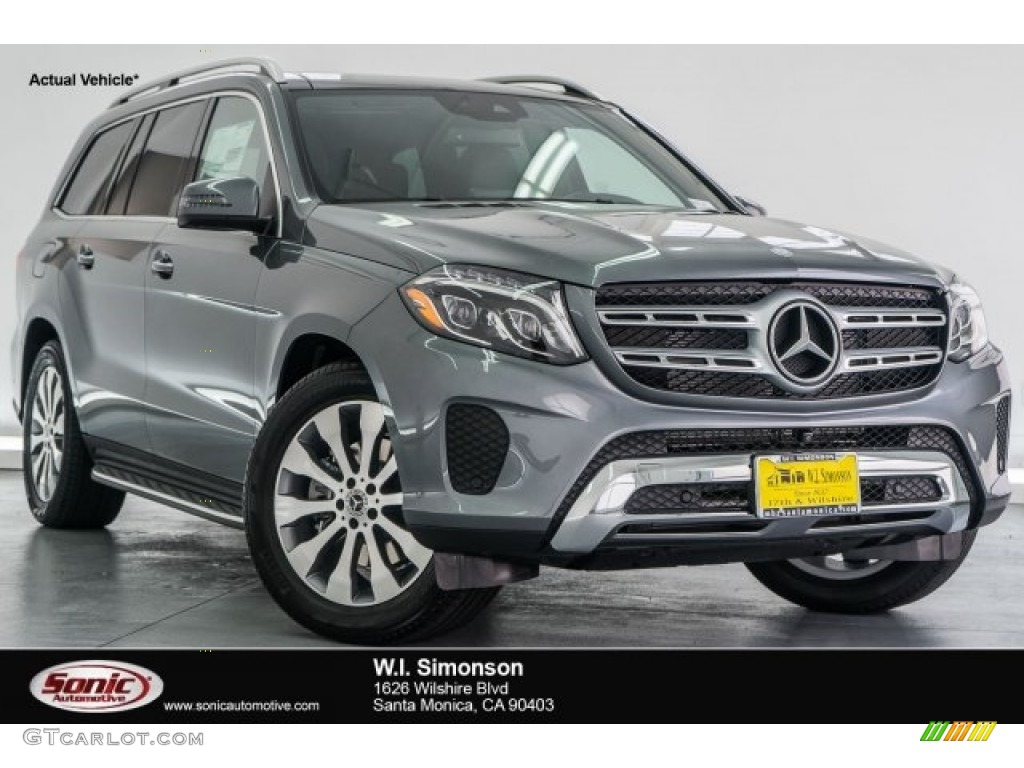 2017 selenite grey metallic mercedes benz gls 450 4matic for 2017 mercedes benz gls 450