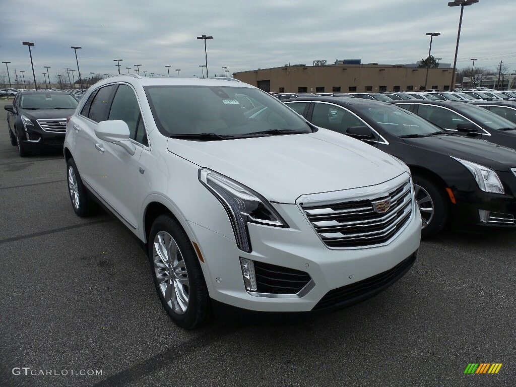 2017 Crystal White Tricoat Cadillac Xt5 Premium Luxury Awd 119339102 Car Color