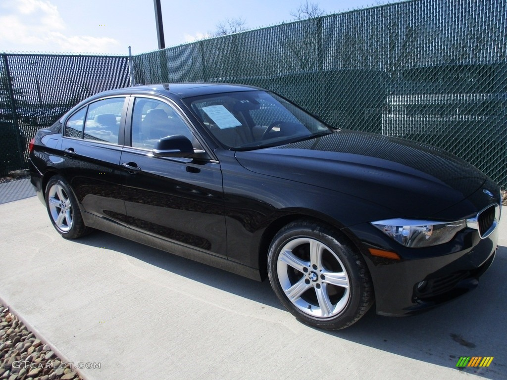 2014 jet black bmw 3 series 320i xdrive sedan 119355305 photo 10 car color. Black Bedroom Furniture Sets. Home Design Ideas