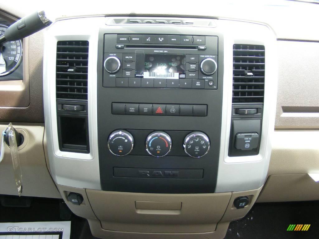 2009 Austin Tan Pearl Dodge Ram 1500 Big Horn Edition Quad