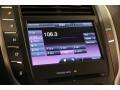 2015 Lincoln MKC White Sands Interior Audio System Photo