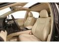 Parchment/Espresso Birds Eye Maple Front Seat Photo for 2013 Lexus RX #119371375