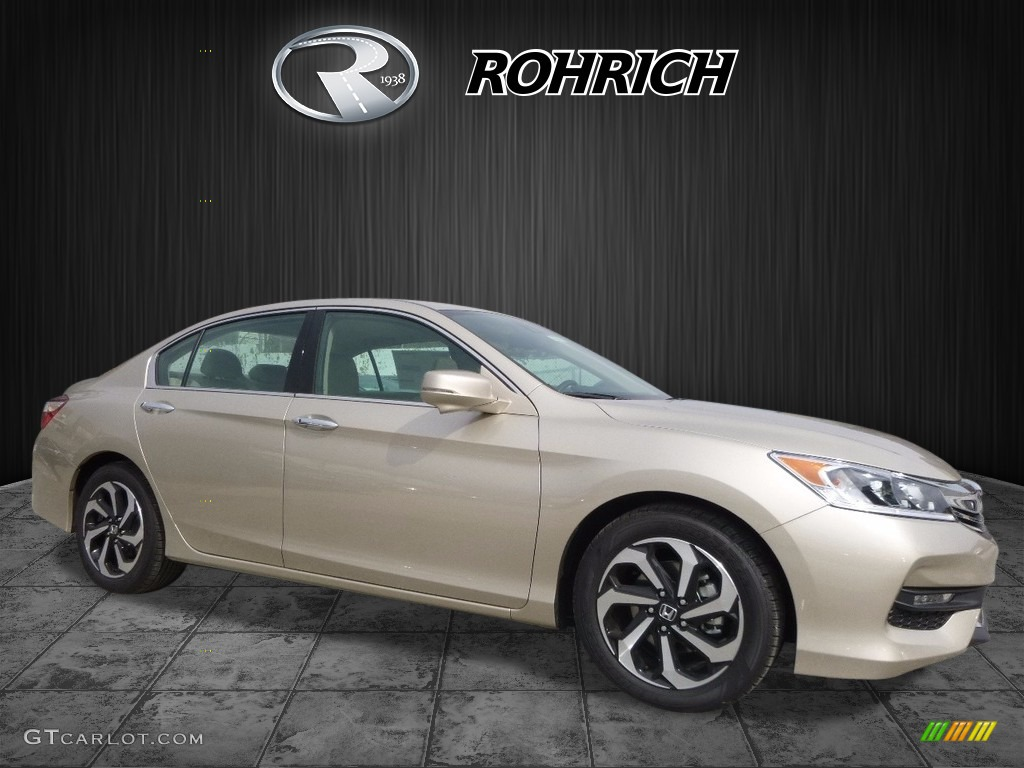 2017 Mandarin Gold Metallic Honda Accord Ex L V6 Sedan 119354920 Gtcarlot Com Car Color Galleries