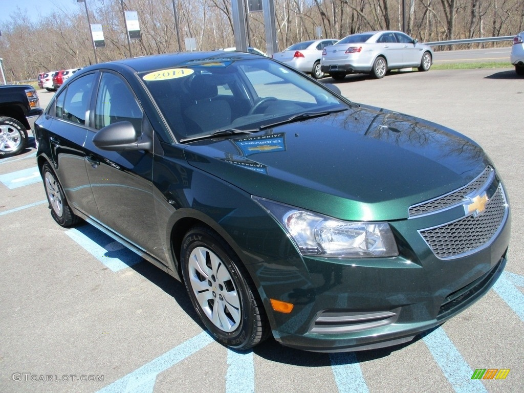 2014 Rainforest Green Metallic Chevrolet Cruze Ls 119384834 Photo 10 Car