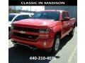 Red Hot - Silverado 1500 LT Double Cab 4x4 Photo No. 1