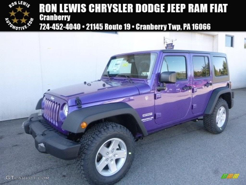 2017 Extreme Purple Jeep Wrangler Unlimited Sport 4x4 119384863