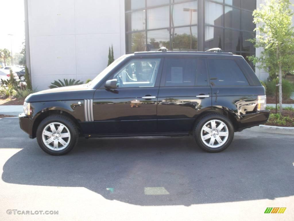 2007 Range Rover HSE - Java Black Pearl / Charcoal photo #2
