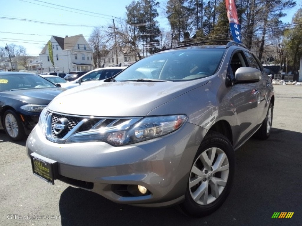 2011 Murano SV AWD - Platinum Graphite / Black photo #1