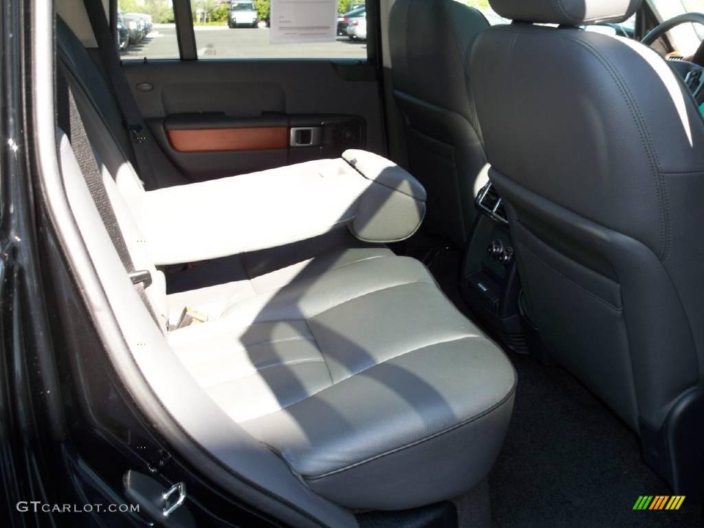 2007 Range Rover HSE - Java Black Pearl / Charcoal photo #10